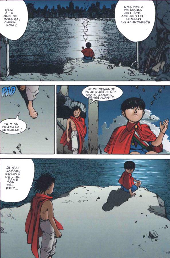 Page 3 du manga couleur d'Akira tome 7