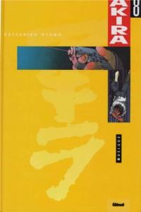 Couverture du tome 8 en couleur d'Akira