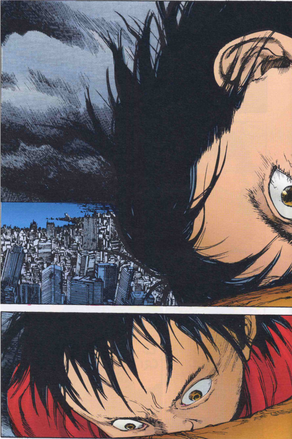 Page 2 du tome 8 du manga en couleur Akira