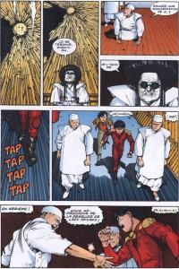 Page 2 du volume 9 du manga Akira en couleur