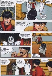 Page 3 du volume 9 du manga Akira en couleur