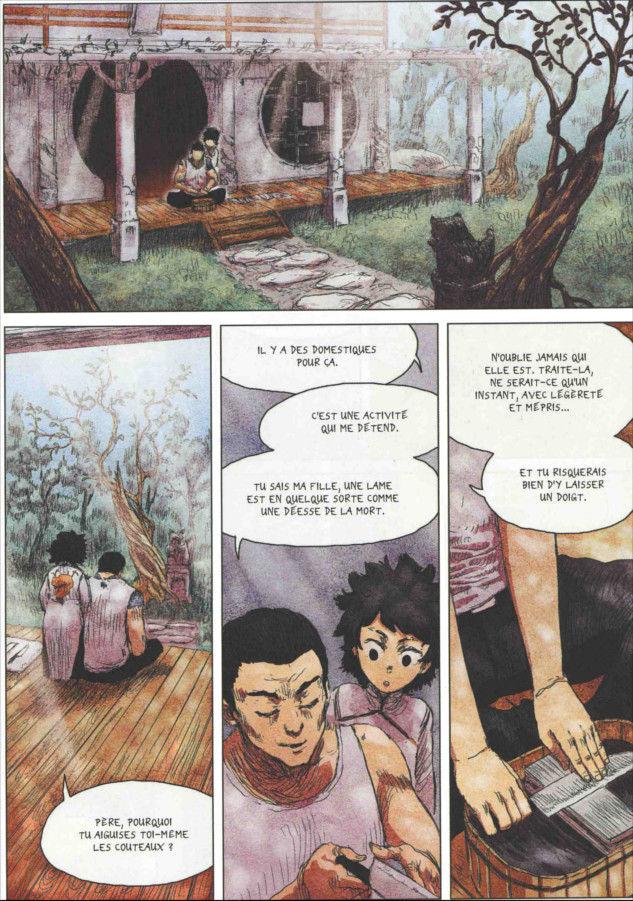 Page 1 du tome 1 de Freaks' Squeele : Rouge