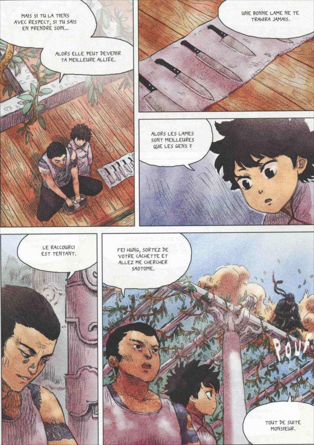 Page 2 du tome 1 de Freaks' Squeele : Rouge
