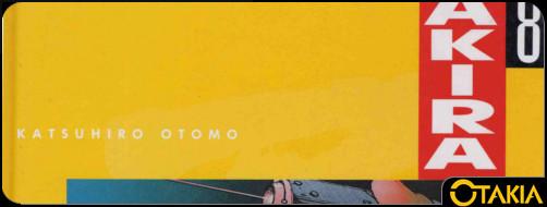 Header Otakia Akira volume 8 (en couleur)