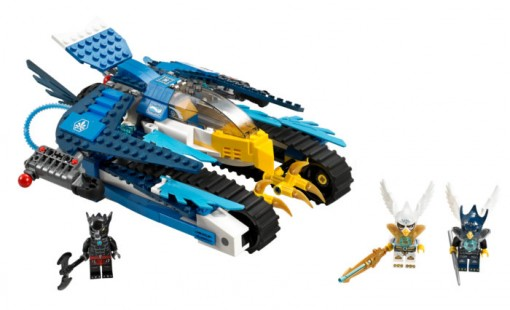 Set Lego Legends of Chima - #70 013 : L'Ultra Striker d'Equila