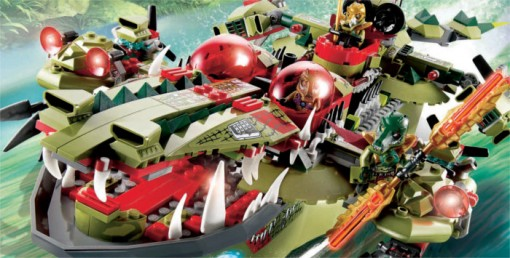 Vehicule Lego : Legends of Chima
