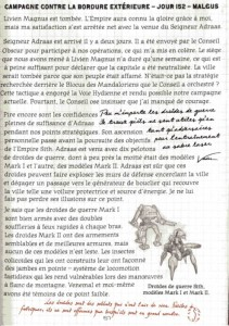 Page 51 du livre des Sith sur les opérations de Dark Malgus (Star Wars)