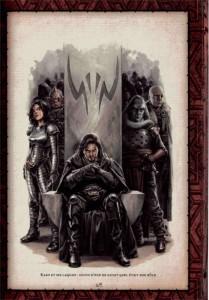 Page 69 du livre des Sith sur la règle des 2 par Dark Bane (Star Wars)