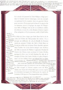 Introduction (page 7) par Dark Sidious du livre des Sith (Star Wars)