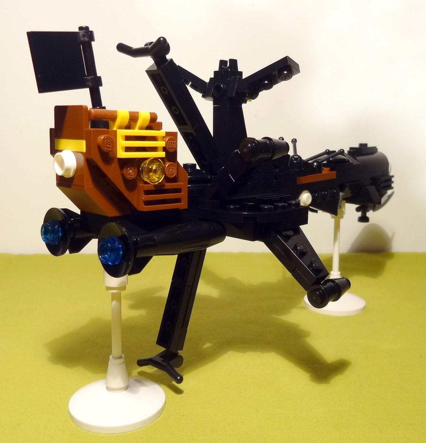 Arcadia en Lego (Albator)