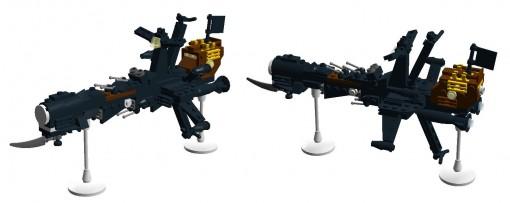 Arcadia (Harlock) modèle Lego en 3D