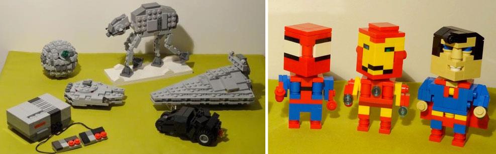 Mini atlantis arcadia lego - Modele lego gratuit ...