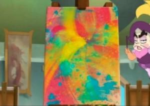 L'oeuvre abstraite de Kerubim