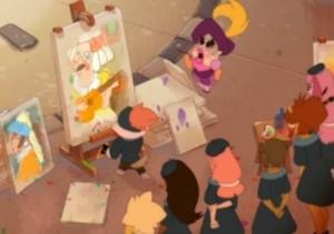 Kerubim n'arrive pas à peindre