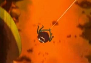 L'arkane se déplace comme Spider-Man