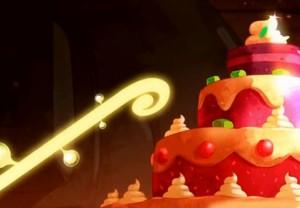 Kerubim utilise la branche du Grand Glucid pour sucrer le gâteau