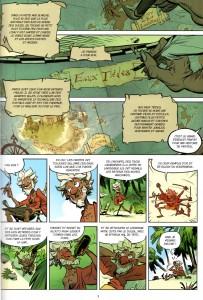 page 1 du tome 1 de Tangomango (Wakfu)