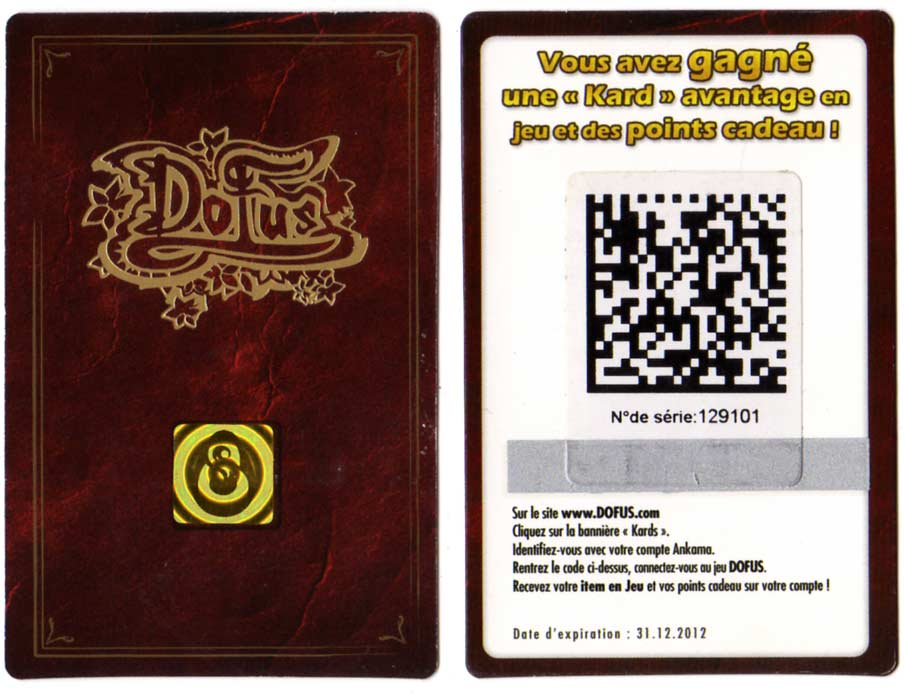 carte de Loterie Tiwabbit (Dofus)