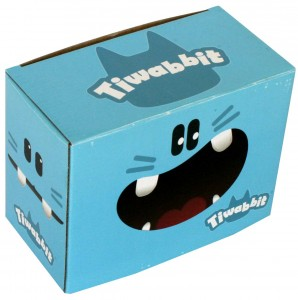 Packaging de la figurine Tiwabbit (Dofus)