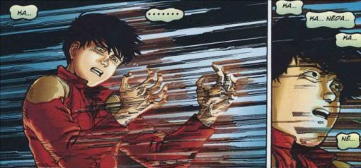 Au moment de disparaître, Kaneda entend Kay ce qui le fera revenir