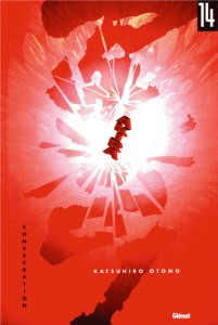 Couverture du tome 14 d'Akira (version couleur)