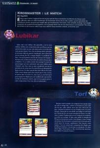 Combat entre Lubikar et Torf (Krosmaster)