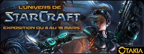 Entête exposition dernier bar Starcraft