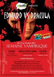 Flyer Semaine Vampirique au dernier bar