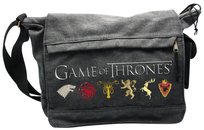 Sacoche Game of Thrones avec les emblêmes