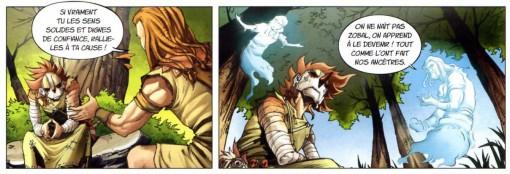 Les fantômes du père et du frère de Maskemane