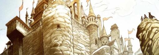 Maskemane et son équipe arrivent au château de Kouto Smisse