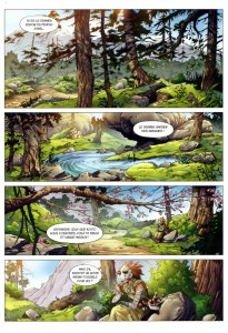 Page 1 du Comics Maskemane N°10