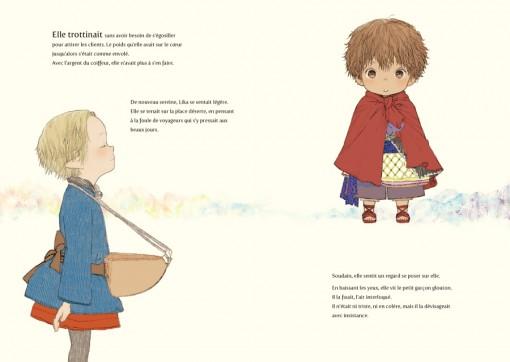 Un petit dieu espiègle ayant l'apparence d'un enfant veille sur Lika