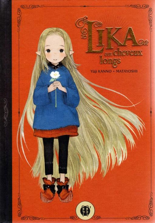 Lika aux cheveux longs (couverture)