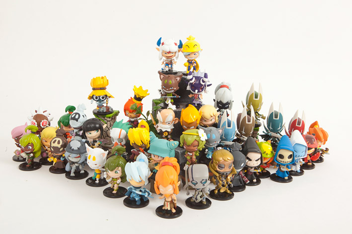Collection Figurines Krosmaster (Dofus - Wakfu)