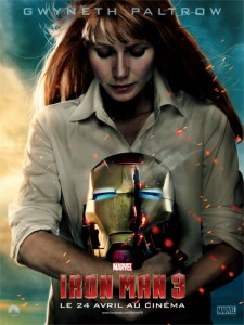 Affiche Iron Man 3 avec Miss Potts