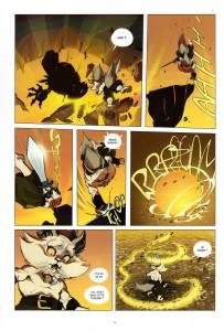 Page 2 du Tome 1 de Kerubim (Dofus)
