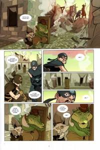 Page 7 du Tome 1 de Kerubim (Dofus)