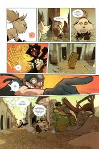 Page 8 du Tome 1 de Kerubim (Dofus)