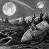 Jules Verne - De la Terre à la Lune - fin du voyage