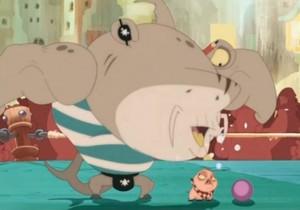 Bash et son cochon Farito