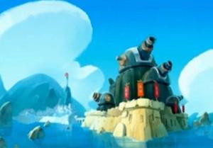 Kerubim et les canons géants