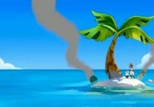 Kerubim atterrit sur une île déserte avec Diane Ardant