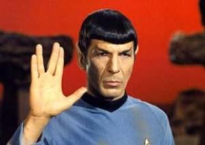 Salut Vulcain de Spock