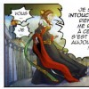 La magicienne pousse Invidia dans le vide