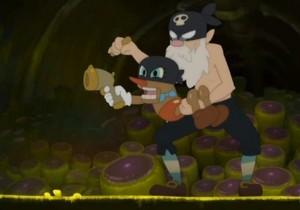 Le roublard et sa marionnette sont un clin d'oeil à Pinocchio et Geppetto (Kerubim)
