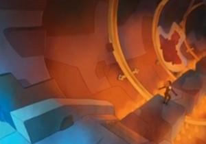 Un des pièges du labyrinthe du Minotoror