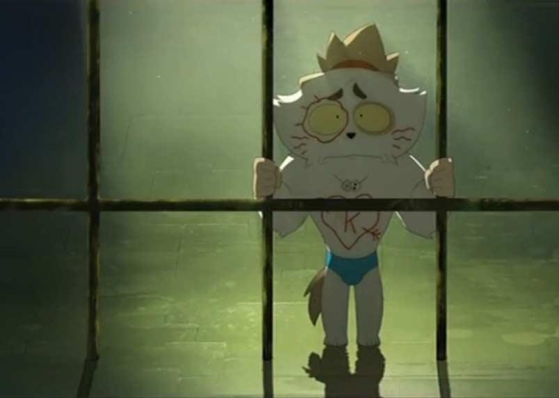 Kerubim est emprisonné