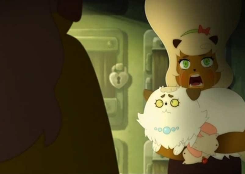 Kiki a le crâne rasé (Kerubim)