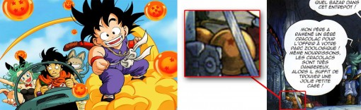 boules de Sheron tirées de Dragon Ball